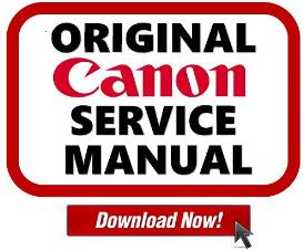canon pixma mp610  printer service manual download