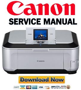canon pixma mp980  printer service manual download
