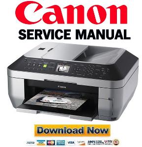 canon pixma mx860  printer service manual download