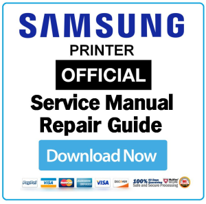 Samsung ML 2160 2165 2165W 2185 2185W Laser Printer Service Manual Download | eBooks | Technical