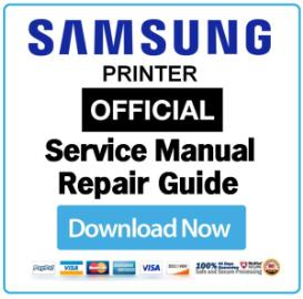 samsung clx-3305fn printer service manual download