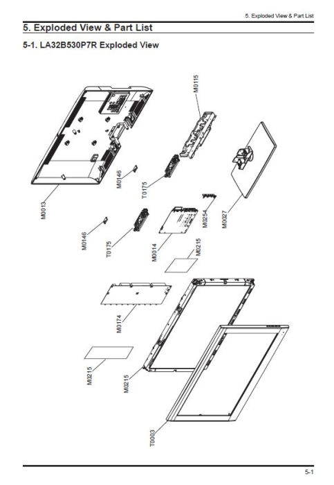 Samsung LA32B530P7R LA37B530P7R LA40B530P7R