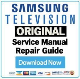 samsung ln40e550f7f ln40e550f7 television service manual download