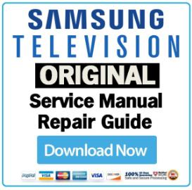 samsung pn58a760 pn58a760t1f television service manual download