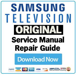 Samsung PN64E8000 PN64E8000GF Television Service Manual Download ...