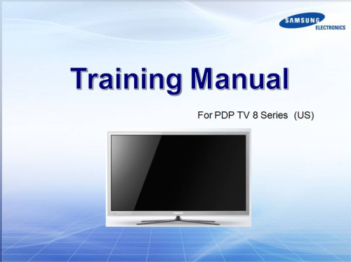 First Additional product image for - Samsung PN64E8000 PN64E8000GF Television Service Manual Download