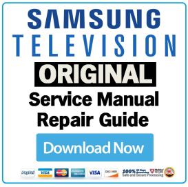 Samsung UN40D5500RF Television Service Manual Download | eBooks | Technical