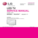LG 50LN5400 TA/TC TV Service Manual Download | eBooks | Technical