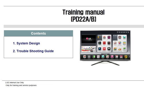First Additional product image for - LG 50PM680T  TV Service Manual Download