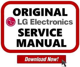 lg 50pn4500 da tv service manual download