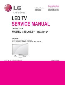 LG 55LA6208 TV Service Manual Download | eBooks | Technical