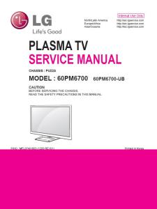 LG 60PM6700 UB  TV Service Manual Download | eBooks | Technical