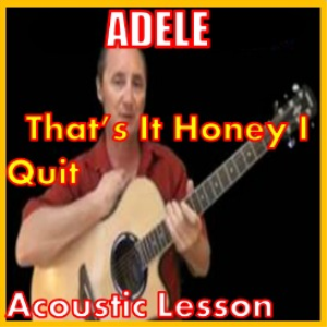 Learn to play That's It Honey I Quit Im Movin On | Movies and Videos | Educational