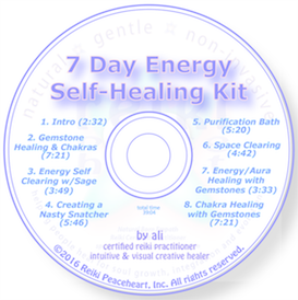 7 day energy self-healing kit