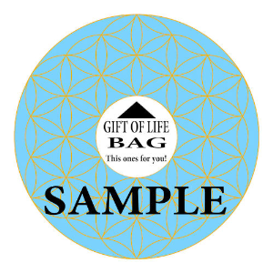 gift of life bag label