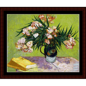 Oleanders - Van Gogh cross stitch pattern by Cross Stitch Collectibles | Crafting | Cross-Stitch | Other