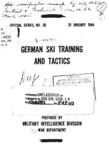 germanski training and tactics 1944
