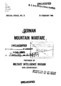 german mountain warfare ss-21