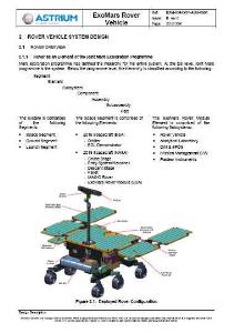 exomars rover vehicle, astrium 2016