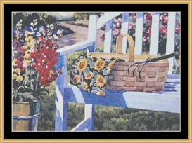 Garden Basket | Crafting | Cross-Stitch | Other