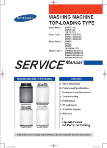 Samsung WA456DRHDWR WA456DRHDSU Washing Machine Service Manual | eBooks | Technical