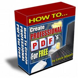 Create professional PDFs for free w/MRR