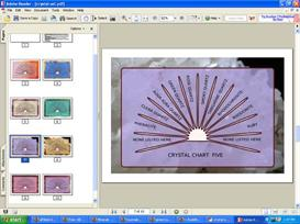 Pendulum Charts Set- Crystal Series   Audio Books   Religion and Spirituality