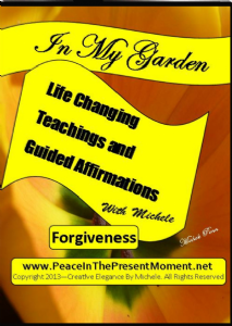 forgiveness teaching and guided forgiveness affirmations by michele penn (video download)