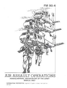 fm 90-4 air assault operations