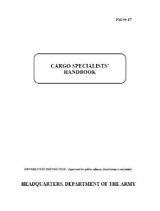 fm 55-17 cargo specialist's handbook