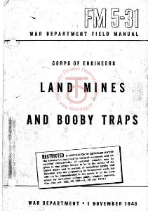 fm5-31 land mines and booby traps 1943