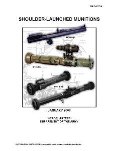 fm3-23.25 shoulder-launched munitions