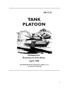 fm 17-15 tank platoon april 1996
