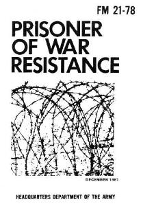 fm 21-78 prisoner of war resistance