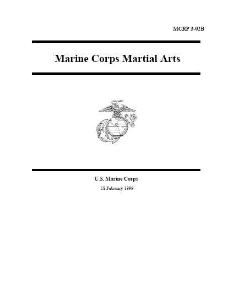 mcrp 3-02b marine corps martial arts