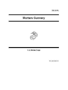 fm23-91 mortars gunnery