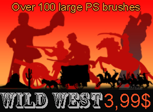 wild west brushes