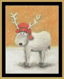 winter collection - reindeer