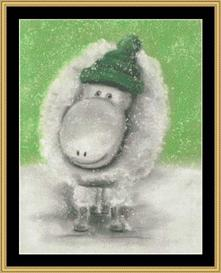 winter collection - sheep