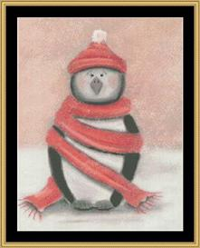 Winter Collection - Penguin | Crafting | Cross-Stitch | Other