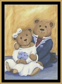 Wedding Bears | Crafting | Cross-Stitch | Other