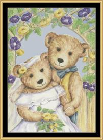 Wedding Bears Ii | Crafting | Cross-Stitch | Other