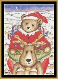 Christmas Bear | Crafting | Cross-Stitch | Other