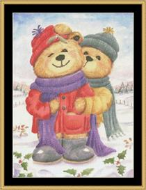 Winter Bears | Crafting | Cross-Stitch | Other