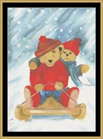 Winter Bears Ii | Crafting | Cross-Stitch | Other