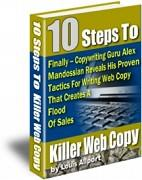 10 Steps To Killer Web Copy | eBooks | Business and Money