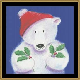 Holly Bear | Crafting | Cross-Stitch | Other