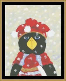 Penguin Chilly Ii | Crafting | Cross-Stitch | Other