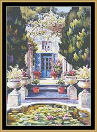 Avignon Afternoon   Crafting   Cross-Stitch   Other