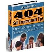 404 Self Improvement Tips | eBooks | Business and Money